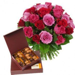 Livraison fleur chocolats